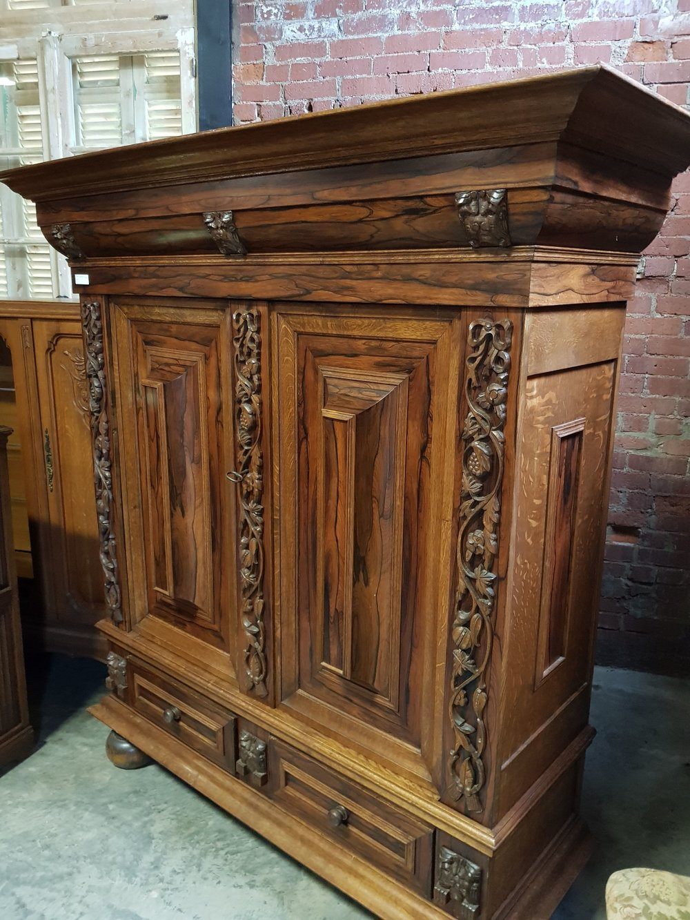 Just What Is A Dutch Pillow Cabinet?