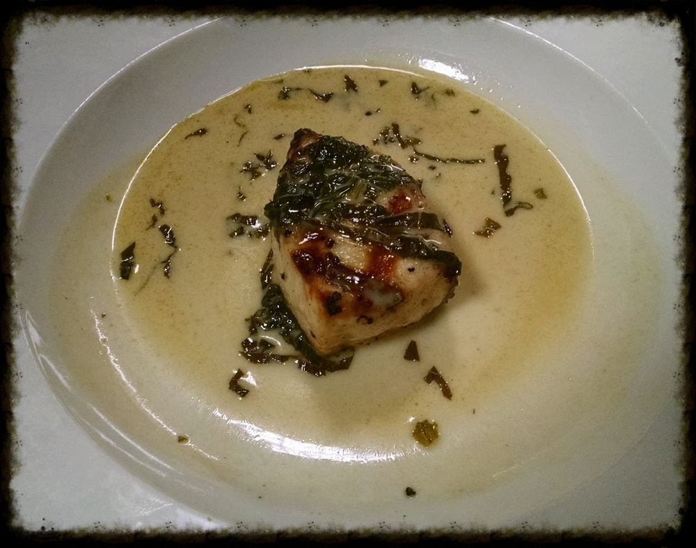 Green Curry Swordfish