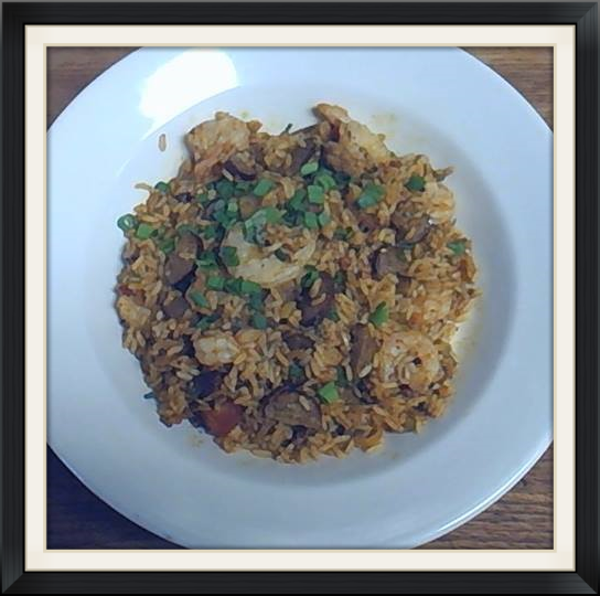 Every Friday It's our amazing  Jambalaya