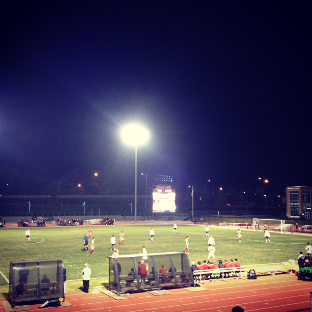 University of Louisville Men's Soccer game.