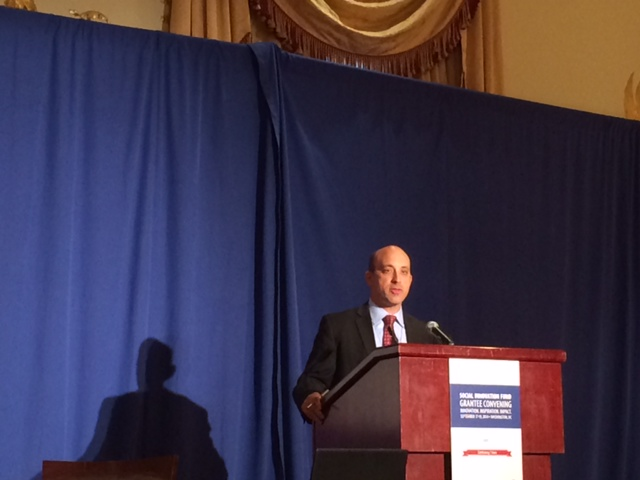 Jonathan Greenblatt, White House Special Assistant to the President welcoming us.