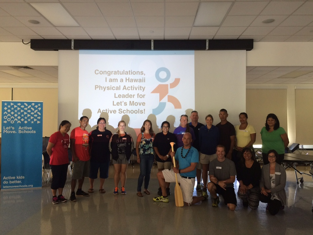 New LMAS PAL trainers in Maui, Hawaii!