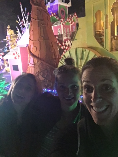 Enjoying our time through the strange  Robolights  installation, a Palm Springs go-to event over the holidays!