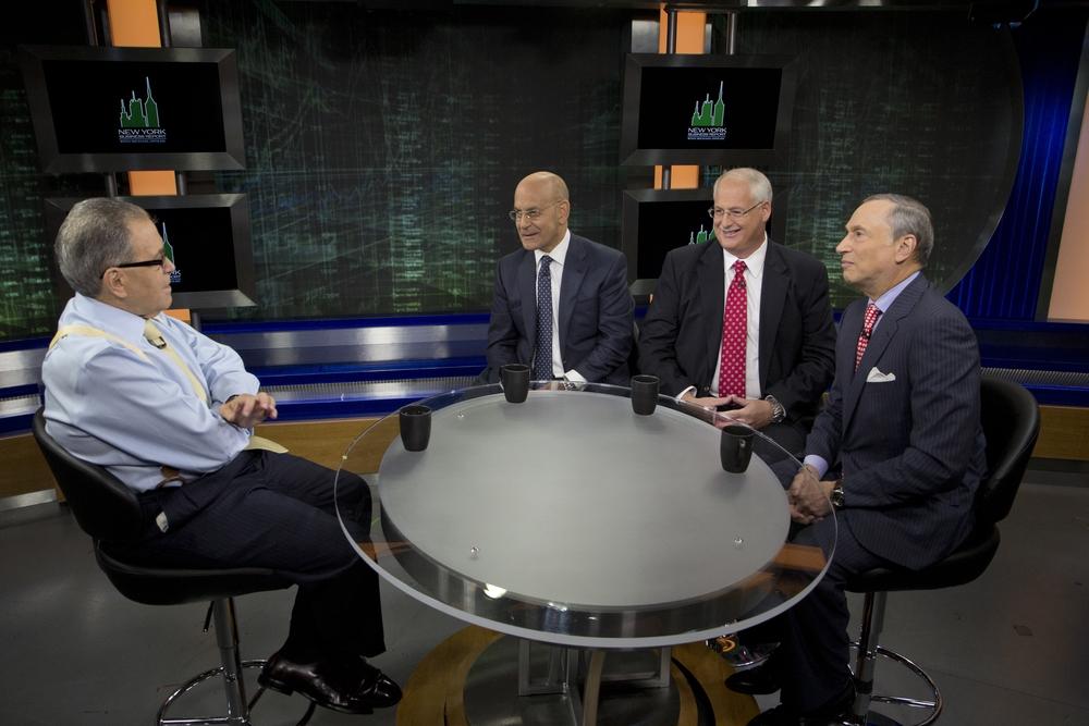 Dr. Steven Safyer, Andy Mitchell, Dr. Robert Grossman