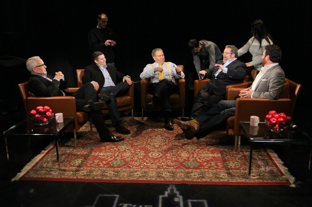Geoffrey Zakarin, Laurent Toradel, Drew Nieporent, Scott Conant