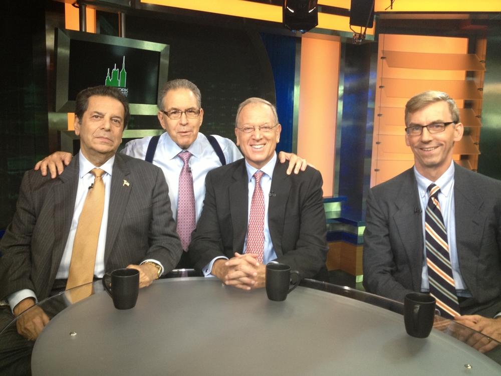 Vincent Riso, Jeffrey Levine, Paul Freitag