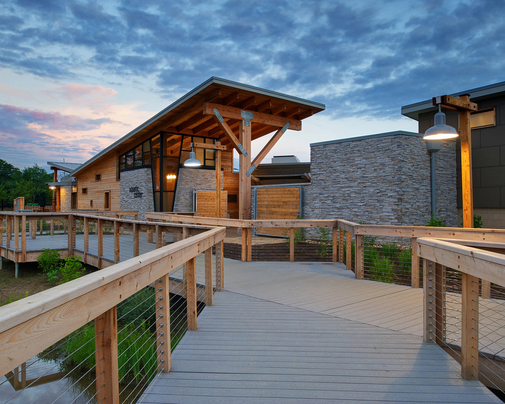 Honor Award   Highlands Park Family Aquatic Center, designed by  Meyers + Associates Architecture