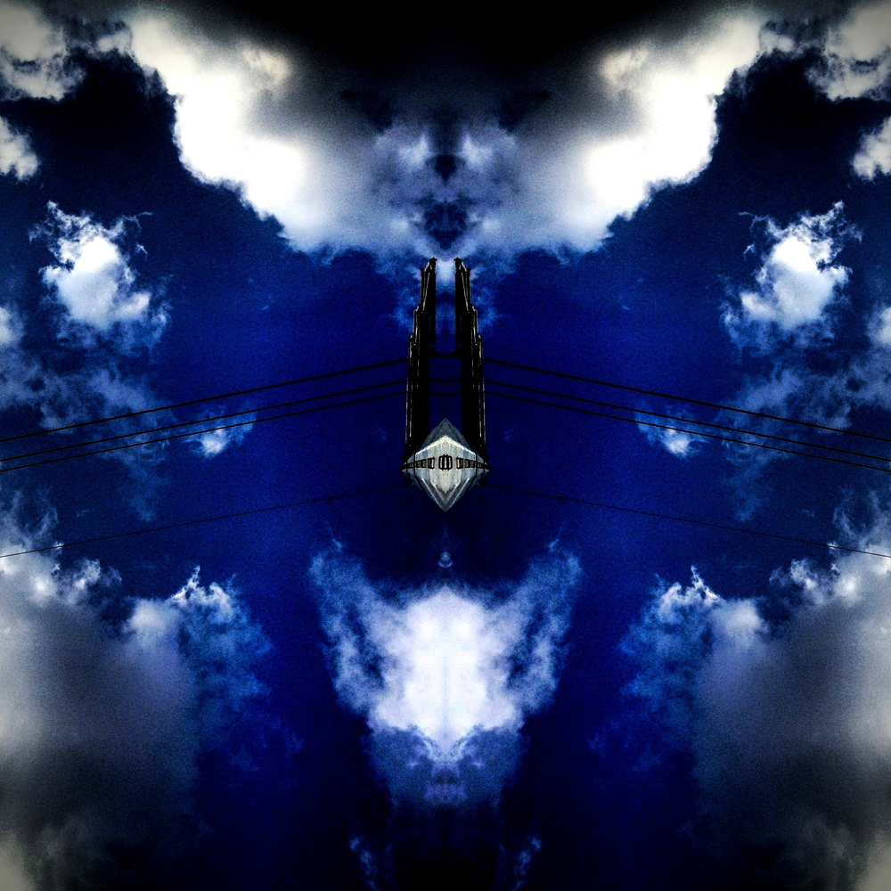 Sometimes mirrorgrams can get a little dark and creepy.