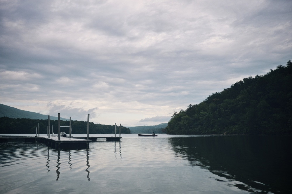 Rocky Gap Lake, Maryland.