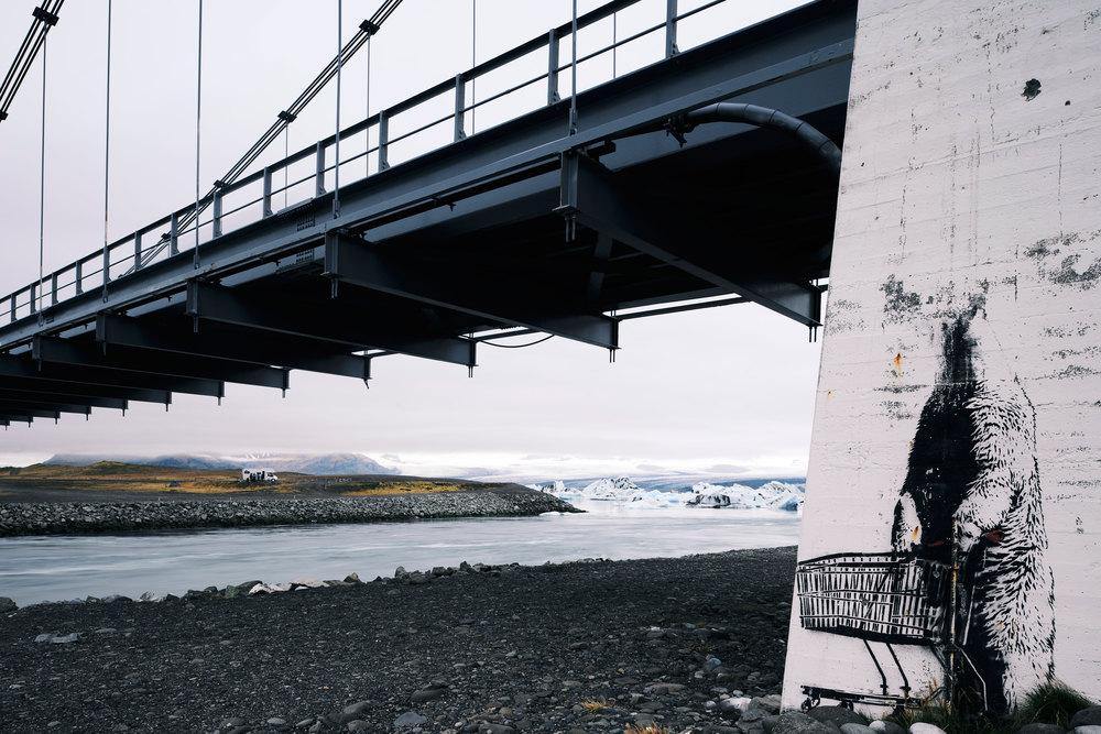 Icelandic Banksy? Nikon: f11 @ 24mm, 1sec, ISO100