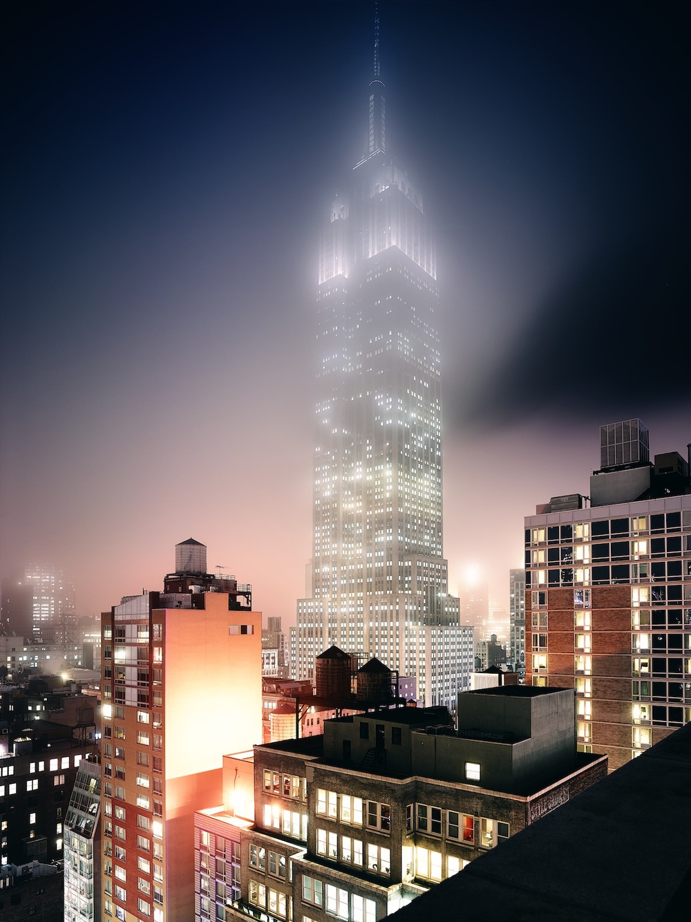 THAT foggy day in NY. This image circulated around quite a bit. Thanks ArchDaily!