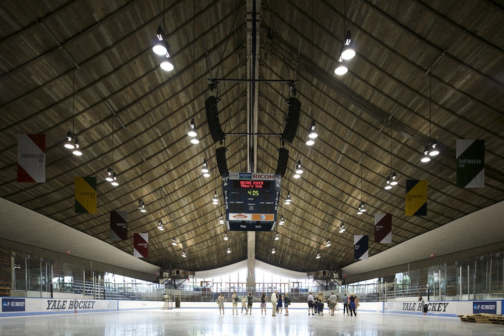 ©  Matthew Carbone — Saarinen's Ingalls Rink at Yale University — docomomo + modern league