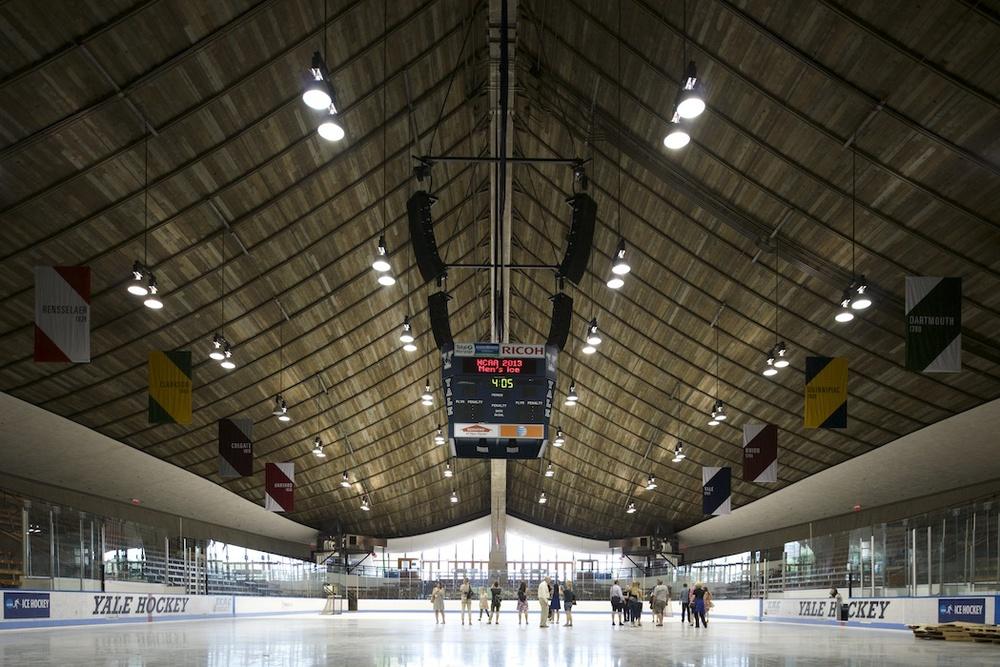 ©Matthew Carbone — Saarinen's Ingalls Rink at Yale University —docomomo + modern league