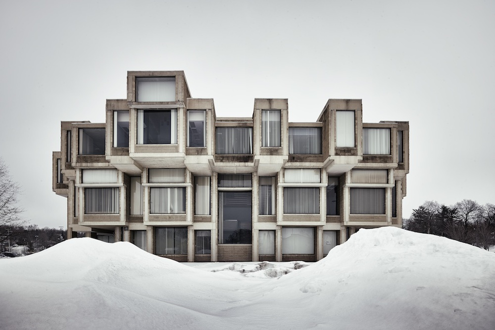 Paul Rudolph's Government Center — Goshen, NY. Photo © Matthew Carbone