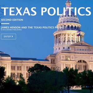 Texas Politics Project at the University of Texas: Online Textbook