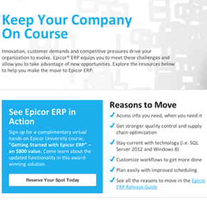Epicor Software: Copywriting
