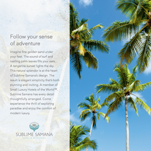 Sublime Samana: Sales Brochure