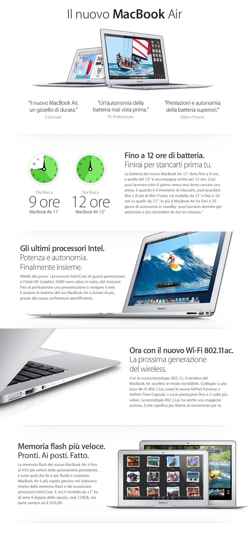 Il nuovo MacBook Air
