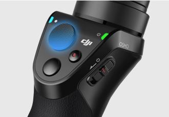 Joystick personalizzabile Imposta la sensibilità, tilt, pan, o la direzione verso la quale il gimbal si può muovere.