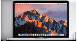 """MacBook Pro 13"""" Touch Bar e Touch ID Display Retina retroilluminato LED da 13,3"""" (diagonale) Processore: Intel Core i5 dual‑core a 2,9GHz o 3,1GHz, oppure Intel Core i7 dual‑core a 3,3GHz Turbo Boost fino a 3,6GHz Fino a 10 ore di autonomia Unità SSD fino a 1TB Trackpad Force Touch 1,37 kg"""