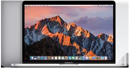 """MacBook Pro 15"""" Touch Bar e Touch ID Display Retina retroilluminato LED da 15,4"""" (diagonale) Processore: Intel Core i7 quad-core a 2,6GHz, 2,7GHz o 2,9GHz Turbo Boost fino a 3,8GHz Fino a 10 ore di autonomia Unità SSD fino a 2TB Trackpad Force Touch 1,83 kg"""