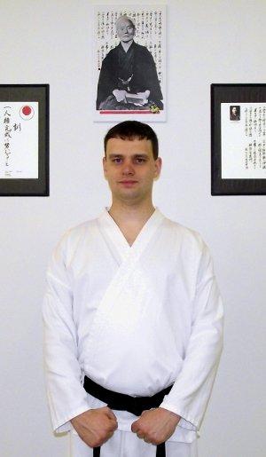 Sensei Shaun Moats