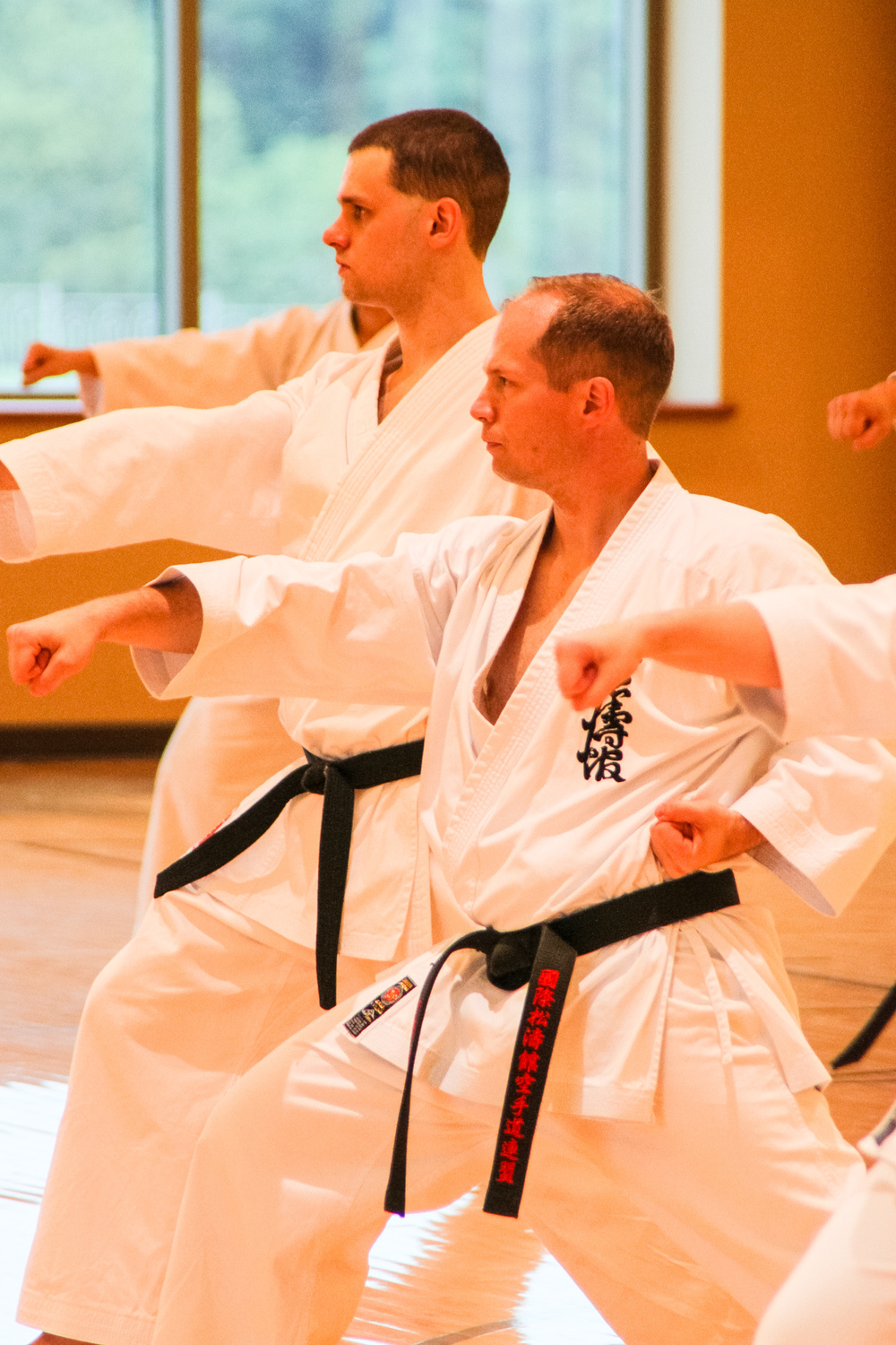 Training at our Kanazawa seminar on 7/2/13.