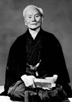 Gichin Funakoshi, circa1955