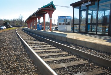 Nanuet's Metro North Station