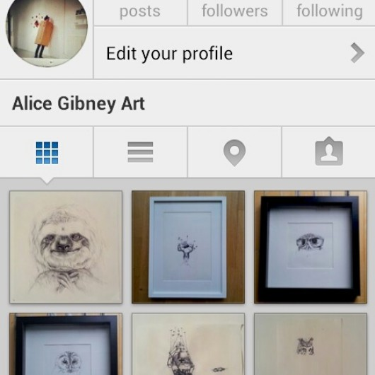 Follow me here:  http://instagram.com/alicegibneyart