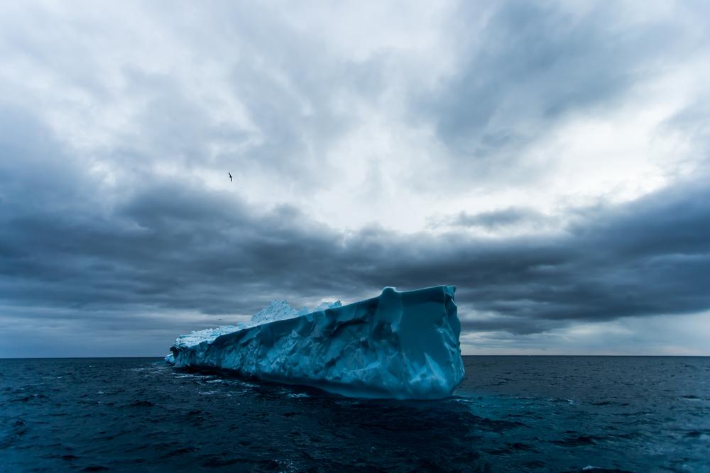 Destroyer de glace - Géorgie du sud