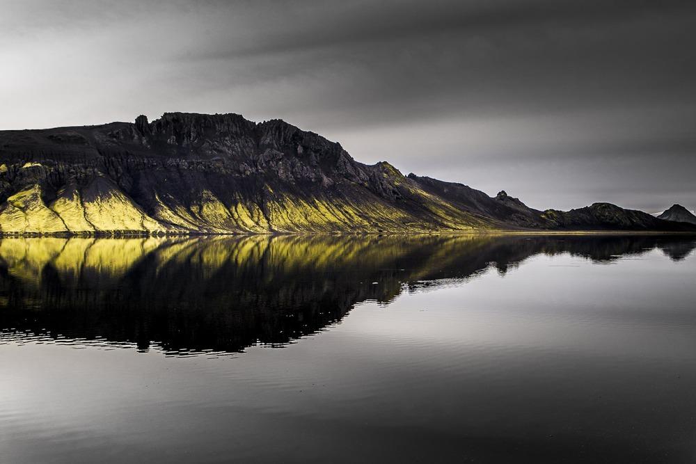 Paysage Hrafntinnusker -  Islande