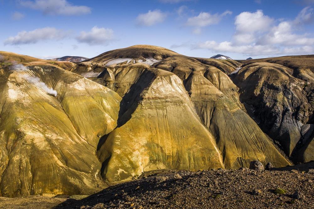 Paysage Landmannalaugar, Suðurland, Islande