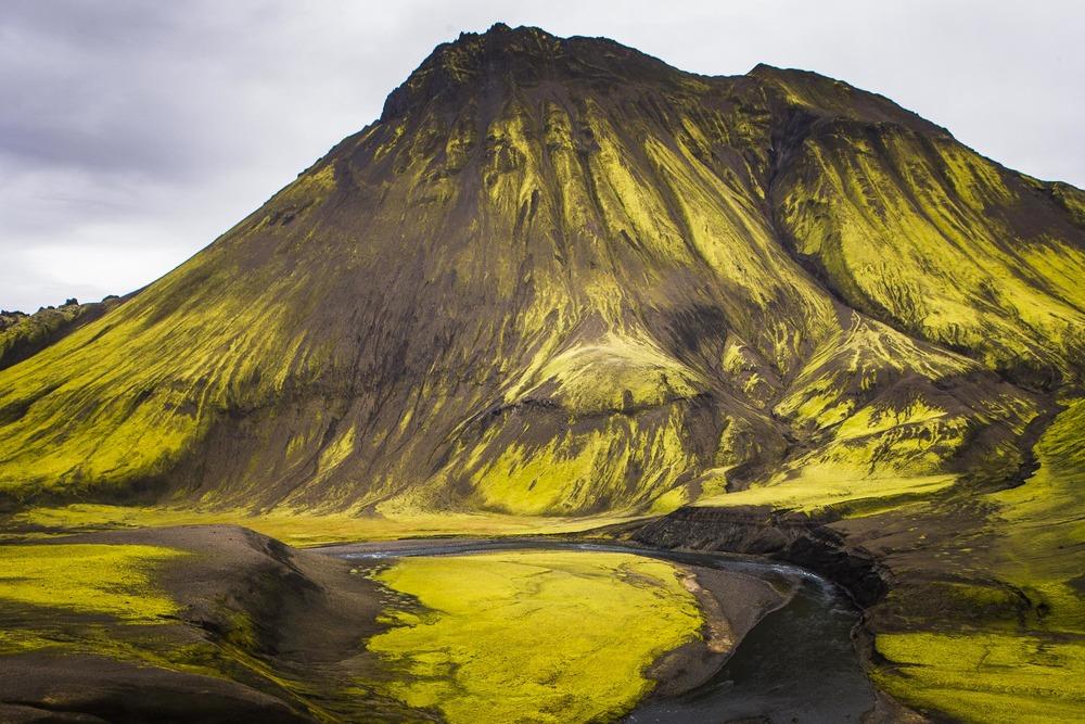 Paysage Désert d'Emstrur, Suðurland, Islande