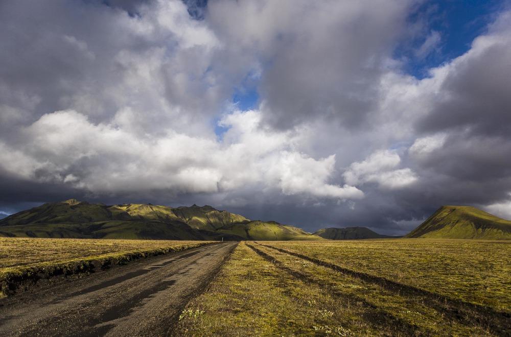 Paysage Fjallabak, Suðurland, Islande