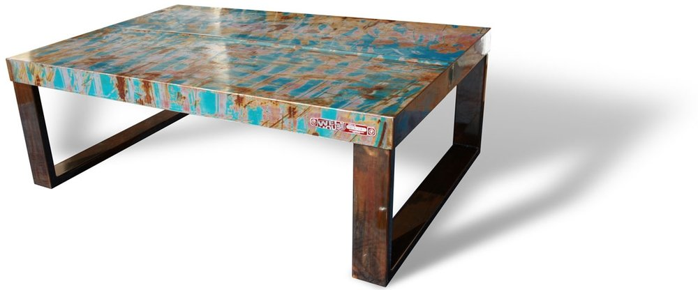Recycled-steel-coffee-table