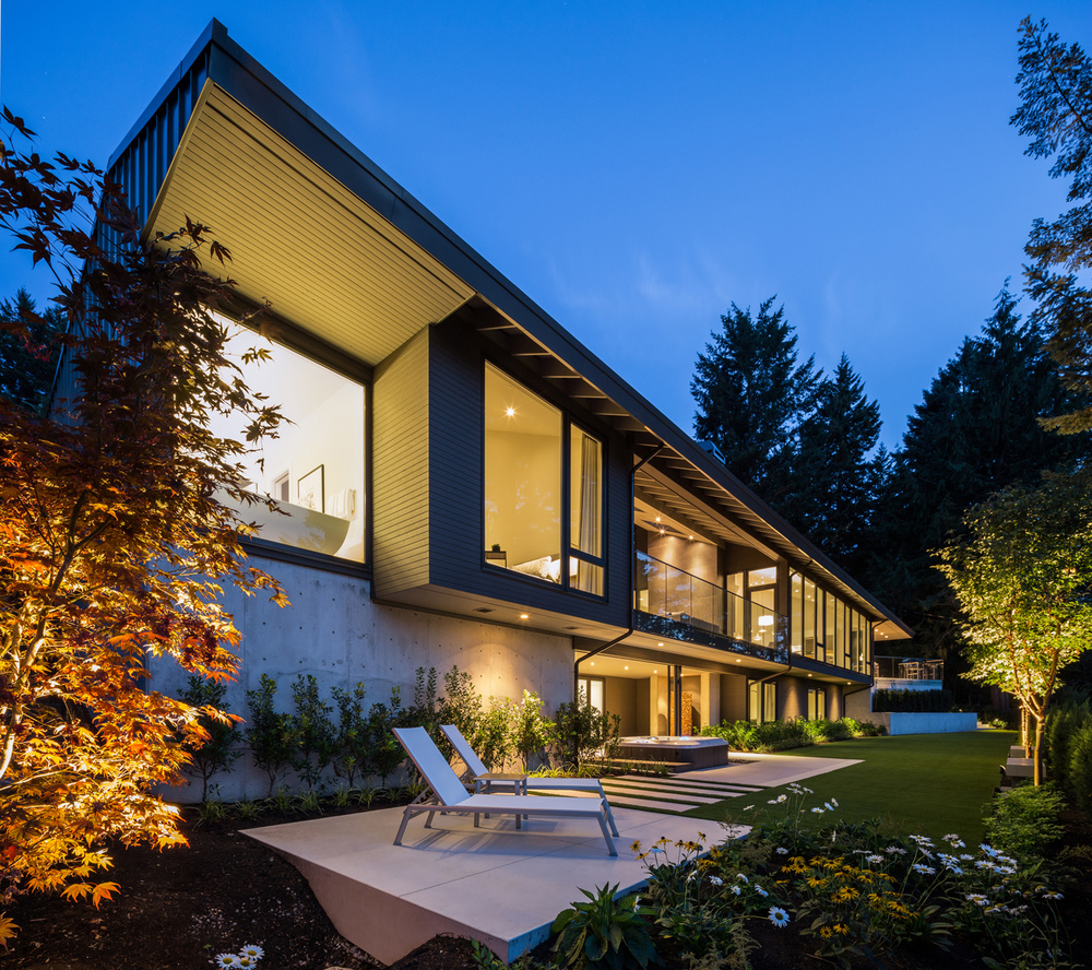 Contemporary Home Chilliwack By Randy Bens Architect: St. Georges