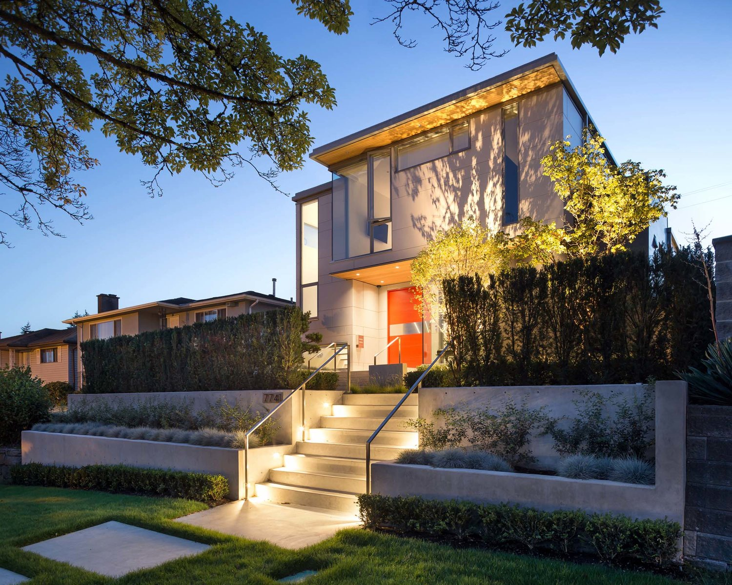 Modern House Architecture Vancouver Modern House