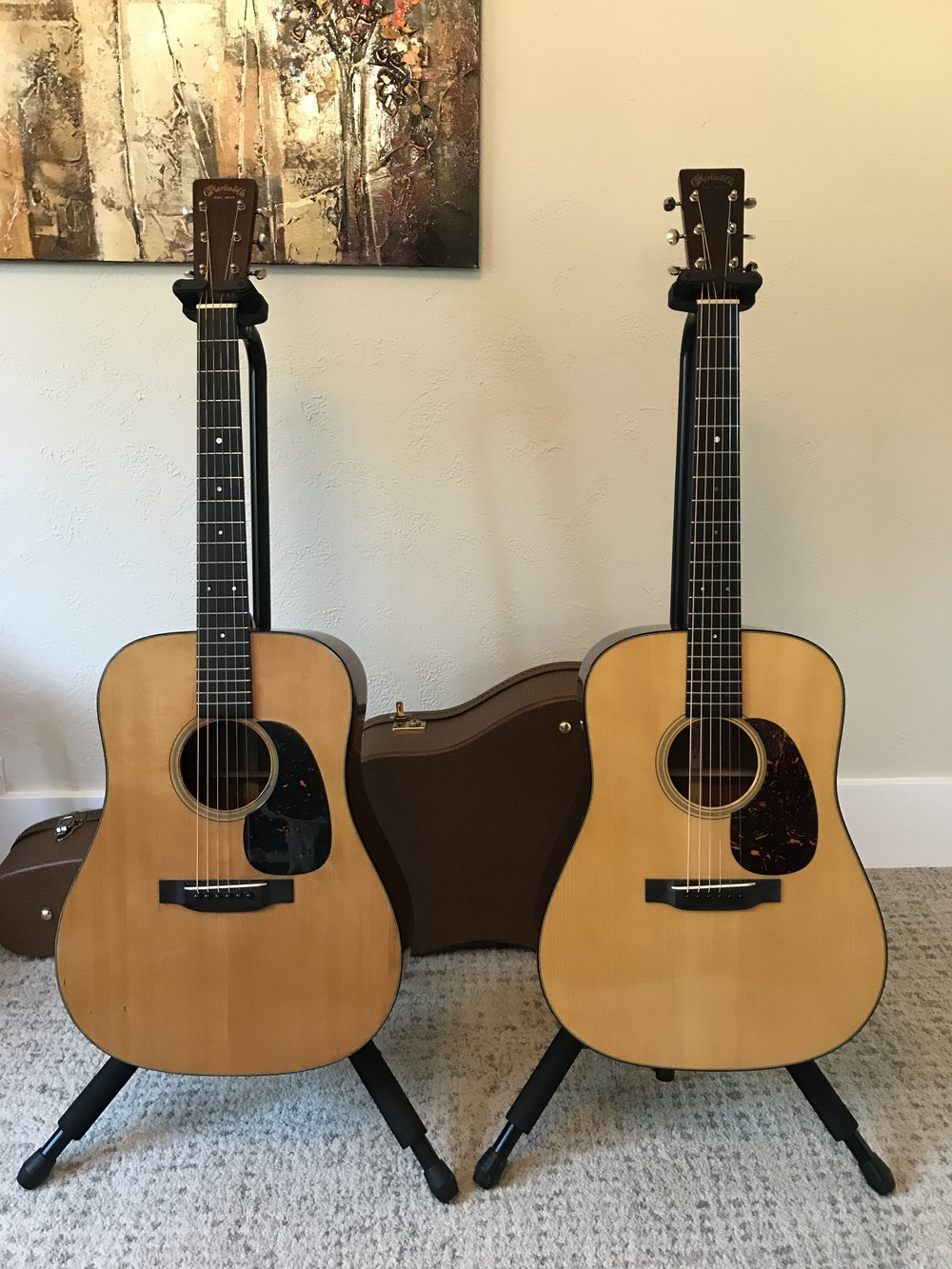 1939 D-18 AND 2006 D-18a - Original left, recreation right