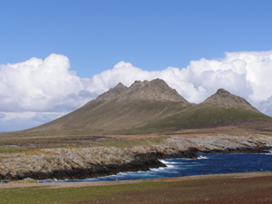 Beautiful Steeple Jason, Falkland Islands