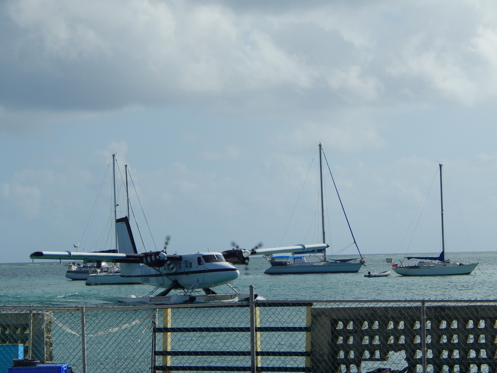 STX June 2014 seaplane and boats.JPG