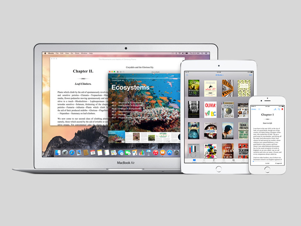 iBooks for OS X & iOS