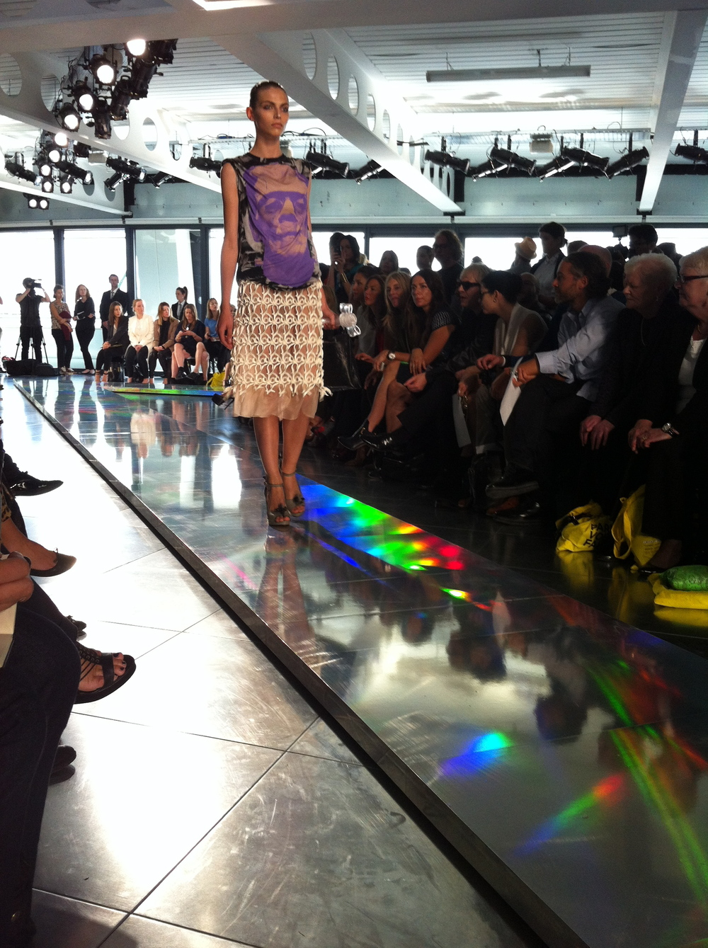 1.-CHRISTOPHER-KANE-Frankenstein-t-shirt-with-techno-pleat-organza-skirt-on-hologram-catwalk.jpg