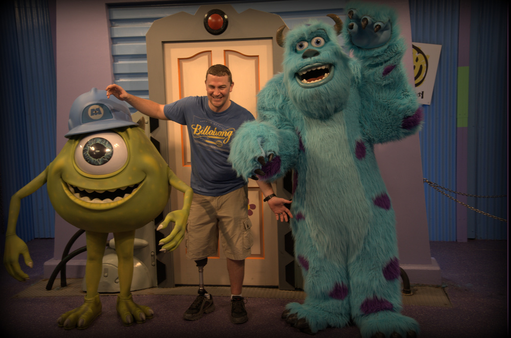 Mike & Sully from Monster's Inc.