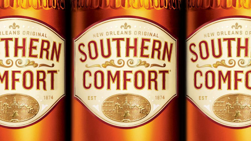 Southern Comfort Rebranding