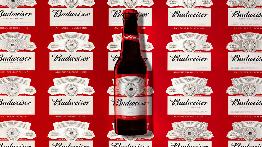 Budweiser Bottle and Label