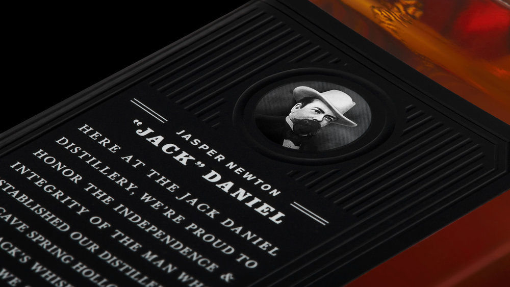 Jack Daniel's Label Detail