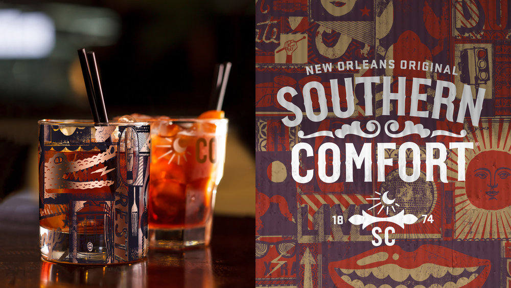 Southern Comfort Identity