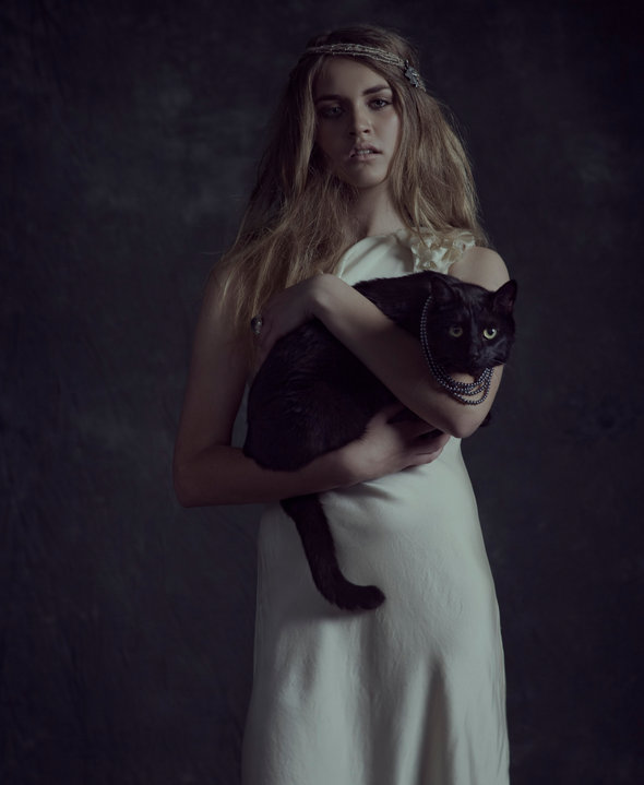 My handsome feline, Jeffrey, on his first modeling gig. A beautiful image shot by Jay Perez -   www.jayperezphoto.com