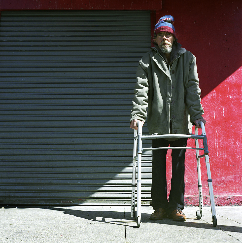 This is my favorite Tenderloin street dweller, Don.